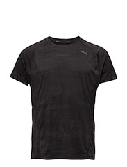 NightCat S/S Tee - PUMA BLACK HEATHER