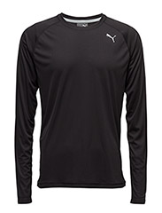 Core-Run L/S Tee - PUMA BLACK