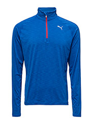 Core-Run LS HZ Tee - LAPIS BLUE HEATHER