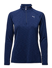 Core-Run L/S HZ Top W - BLUE DEPTHS HEATHER