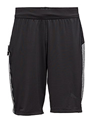 Bonded Tech SHORT - PUMA BLACK-MEDIUM GRAY HEATHER