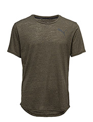 Dri-Release Novelty Tee - OLIVE NIGHT HEATHER