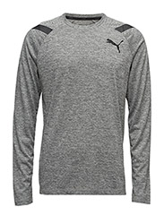 Bonded Tech LS Tee - MEDIUM GRAY HEATHER