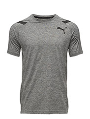 Bonded Tech SS Tee - MEDIUM GRAY HEATHER