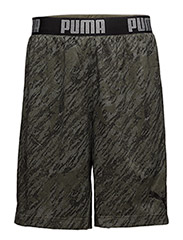 Reversible Short - PUMA BLACK-OLIVE NIGHT