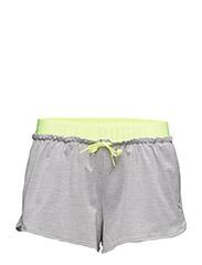 TRANSITION Drapey Shorts W - LIGHT GRAY HEATHER