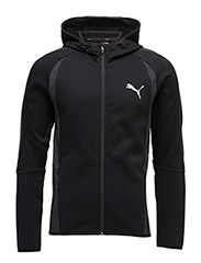Evostripe Ultimate FZ Hoody - COTTON BLACK