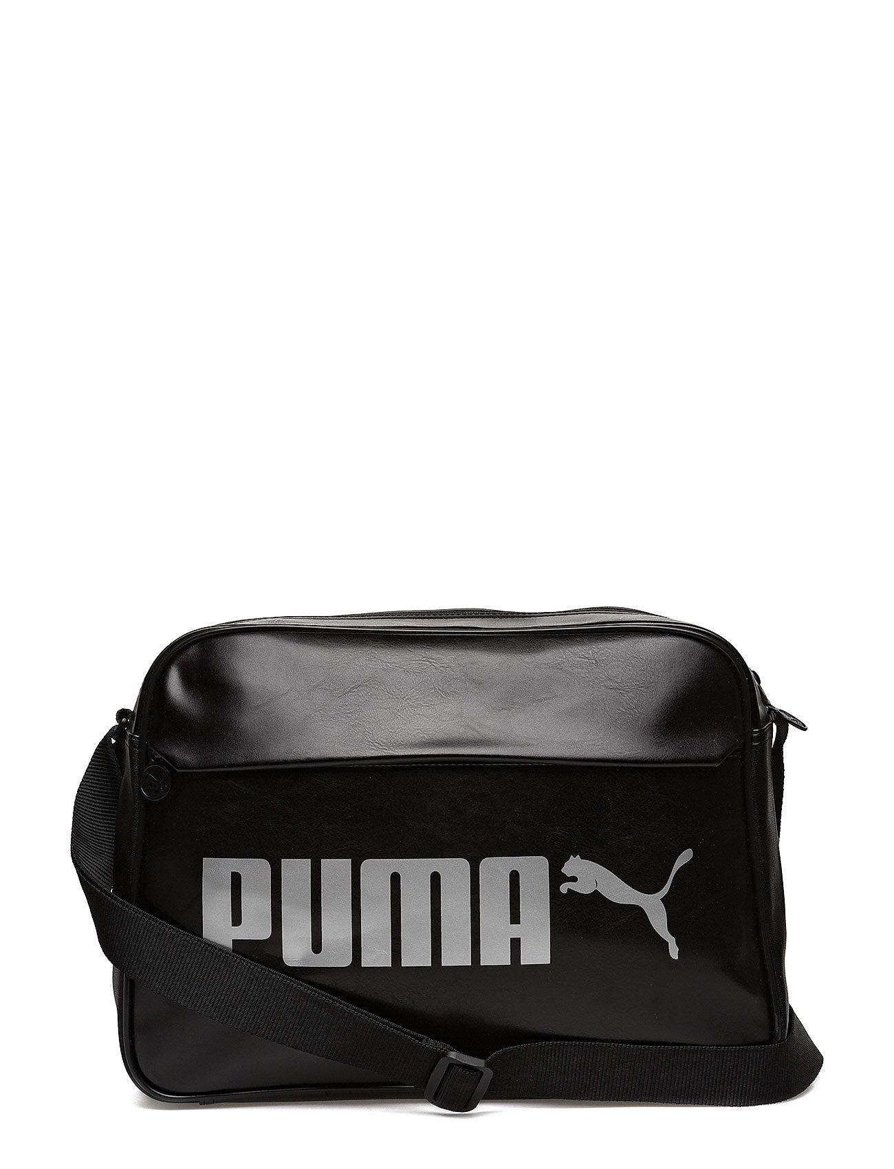 Laukut Puma : Campus reporter pu puma black  boozt
