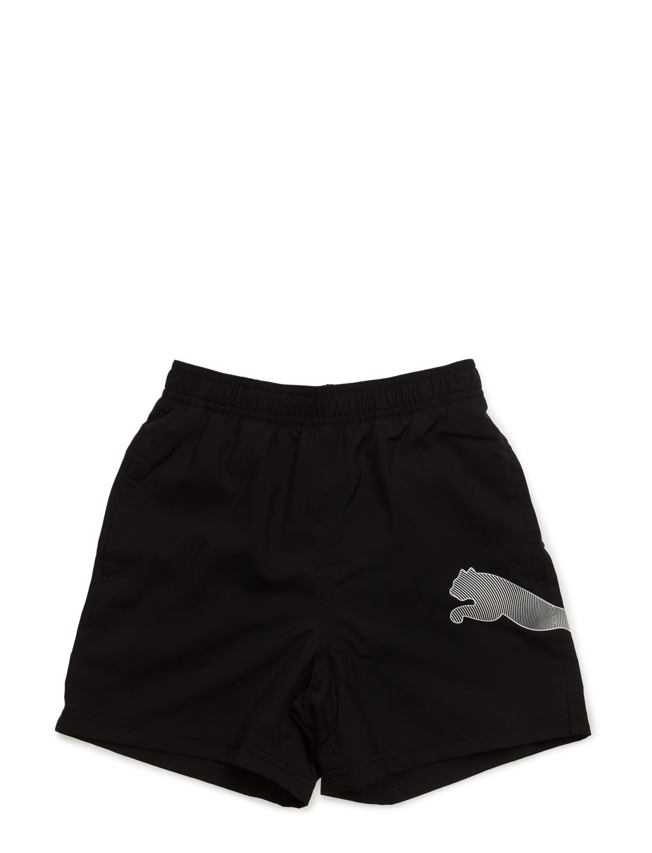 Active Big Cat Beach Shorts M Puma Badebukser til Børn i Sort