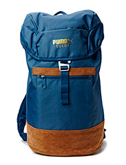 SUEDE BACKPACK 590x25x380 - Blue