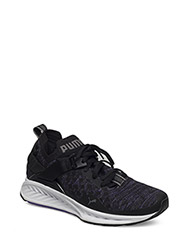 IGNITE evoKNIT Lo Wn's - PUMA BLACK-ELECTRIC PURPLE-QUI