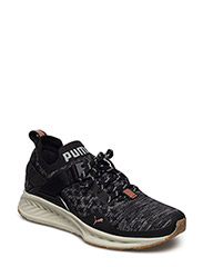 IGNITE evoKNIT Lo VR Wn's - PUMA BLACK-QUARRY-QUIET SHADE