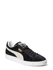 SUEDE CLASSIC ECO - Black/Whit