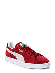 Suede Classic+ - CABERNET-WHITE