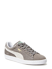 Suede Classic+ - STEEPLE GRAY-WHITE