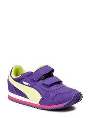 ST-Runner V Kids - prism violet-sunny lime