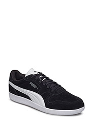 ICRA TRAINER SUEDE - BLACK-WHITE