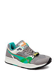 PUMA TRINOMIC XT1 PLUS - Grey/Green