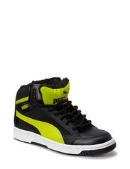 PUMA Rebound v2 Hi Winter JR - black-sulphur spring