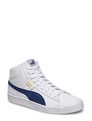 Puma 1948 Mid L - PUMA WHITE-BLUE DEPTHS
