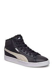 Puma 1948 Mid L Fur Jr - PUMA BLACK-PUMA WHITE