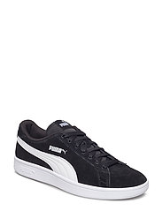 Puma Smash v2 SD Jr - PUMA BLACK-PUMA WHITE