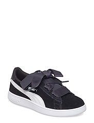 Puma Smash v2 Ribbon AC PS - PUMA BLACK-PUMA WHITE
