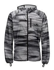 LastLap Graphic Jacket - PUMA BLACK-MULTI COLOUREDAOP