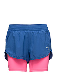 "Blast 2in1 3"" Short W - TRUE BLUE-KNOCKOUT PINK"