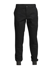 DECO CUFFED PANT - Black