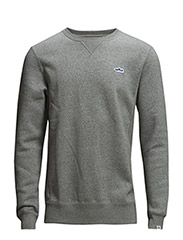 SUEDE CREW - Medium gray hea