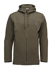 Evo Core FZ Hoody - OLIVE NIGHT