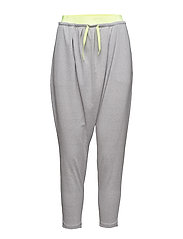 TRANSITION Drapey PANTS W - LIGHT GRAY HEATHER