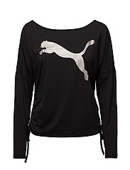 TRANSITION Light Cover up - PUMA BLACK-BIG CAT
