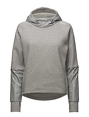 EVOSTRIPE Hoody - LIGHT GRAY HEATHER
