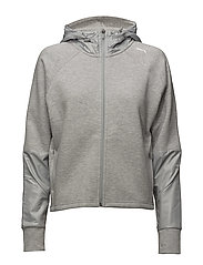 EVOSTRIPE FZ Jacket - LIGHT GRAY HEATHER