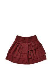 Allover printed skirt
