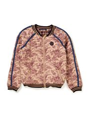Printed Bomber Jacket - dessin A