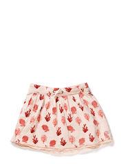 Reversible bonded jersey skirt - dessin C