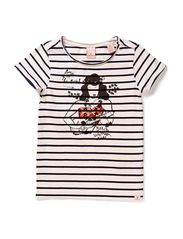 Tee with chest artworks - dessin A