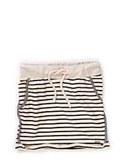 Stripe skirt with chambray bindings - dessin A