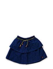 Balloon skirt - Indigo mist - 48 denim blue