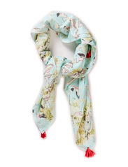 Printed scarf light weight cotton - dessin B