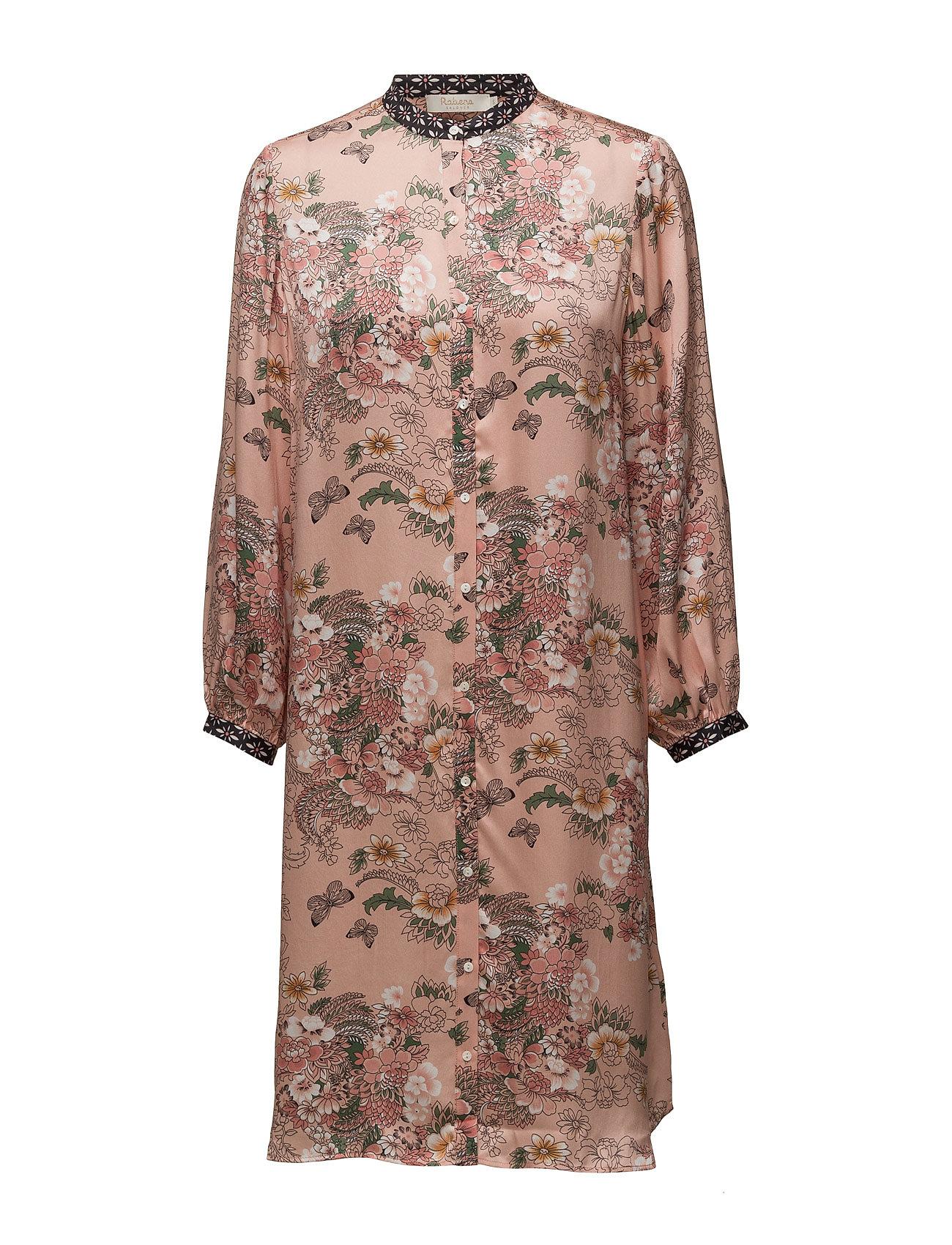 Garden Mix Long Shirt Dress Rabens Saloner Knælange & mellemlange til Damer i