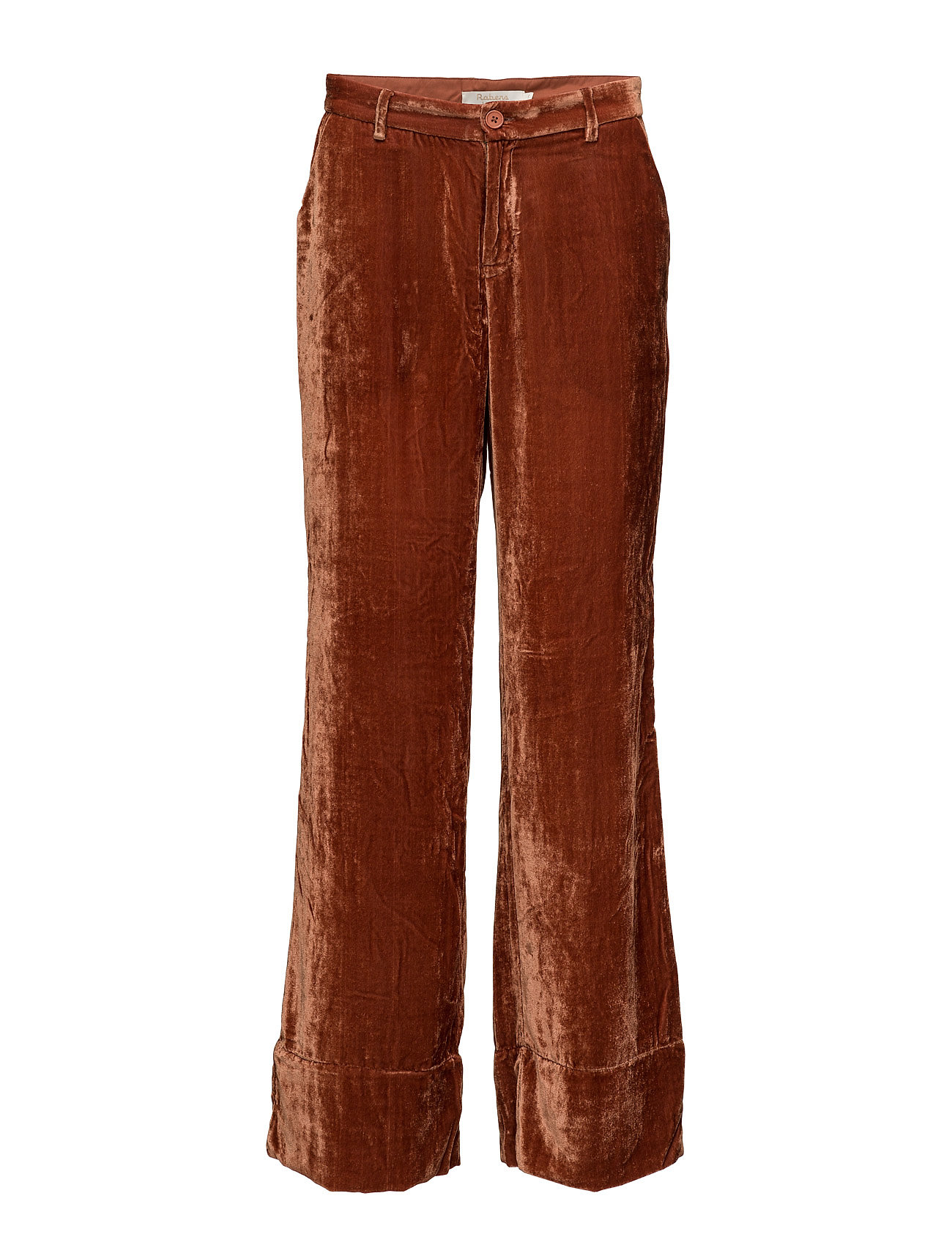 Soft velvet wide pants fra rabens saloner på boozt.com dk