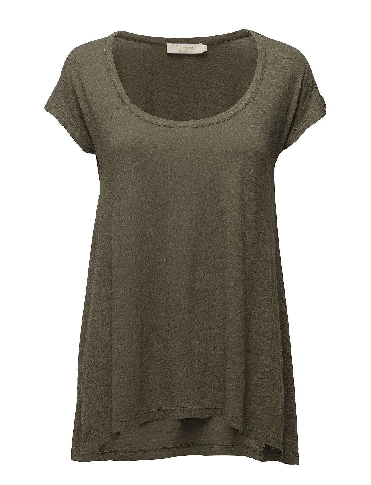 Soft Touch A-Line T-Shirt Rabens Saloner T-shirts & toppe til Kvinder i Burnt Olive