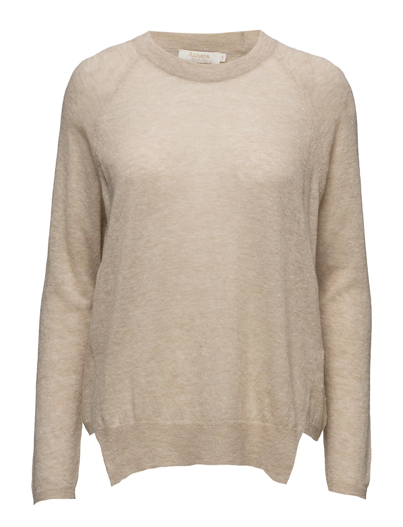 Melange boxy sweater fra rabens saloner på boozt.com dk
