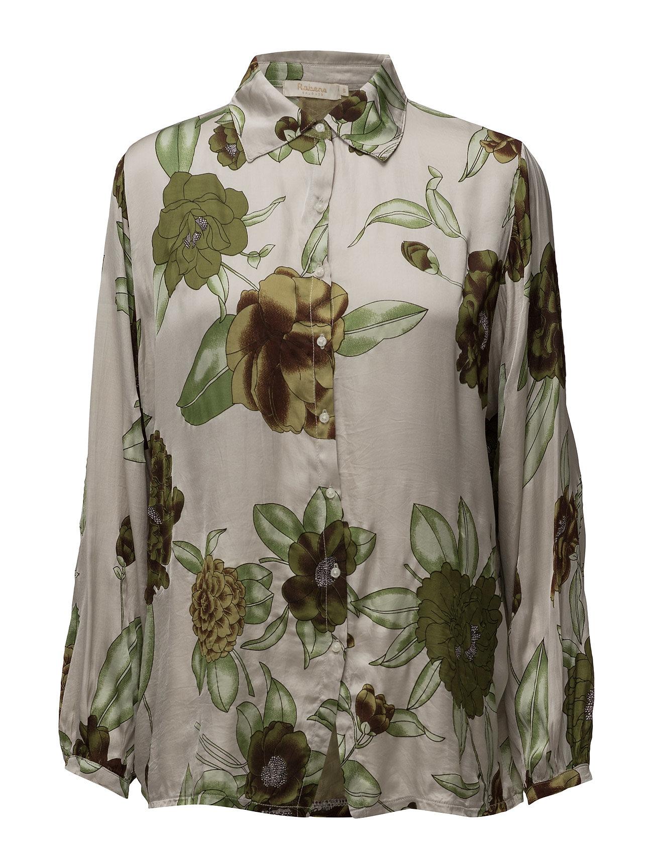 Megaflower Shirt Rabens Saloner Langærmede til Damer i Grøn