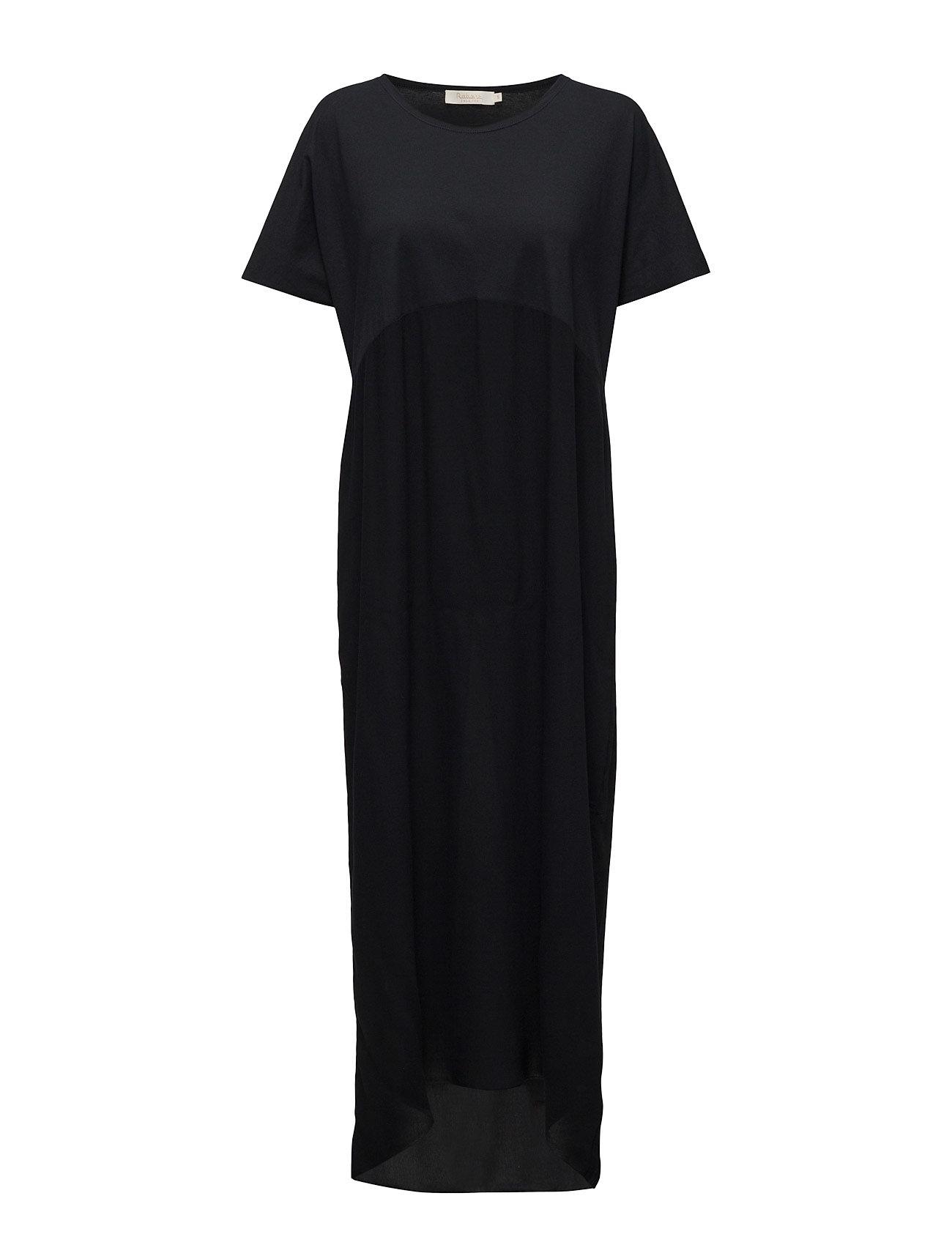 rabens saloner – Jersey solid long dress fra boozt.com dk