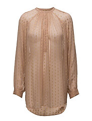 Gold dot shirt - TOASTED ALMOND